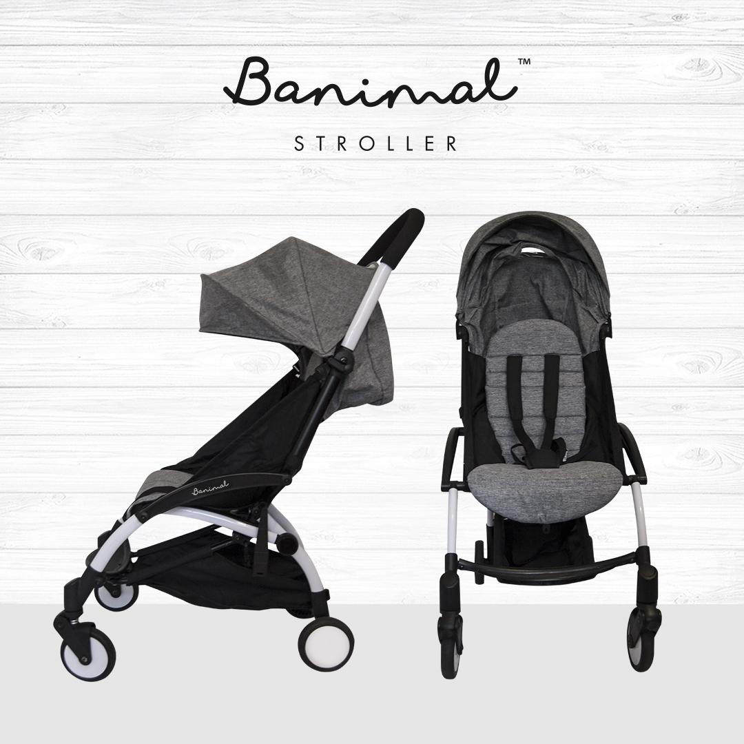 Banimal Stroller Grey